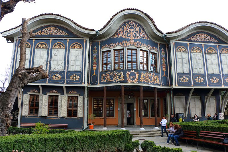 Ethnographical museum in Plovdiv