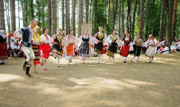 Bulgarian horo dance