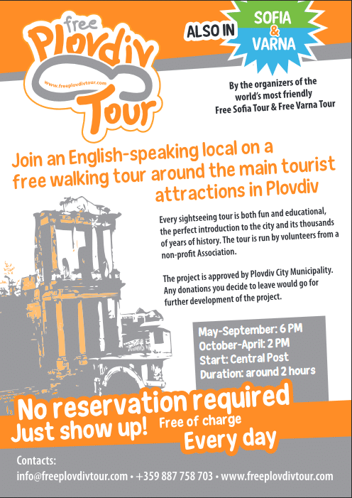 Spread the Word - Let more People Learn about Us | Free Plovdiv Tour