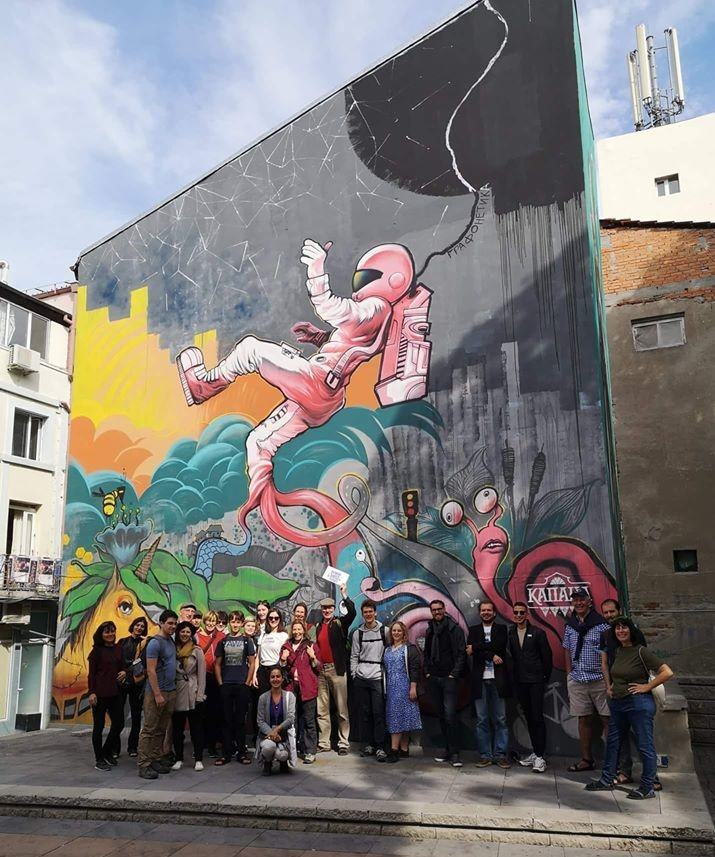 Graffiti art and street art tours