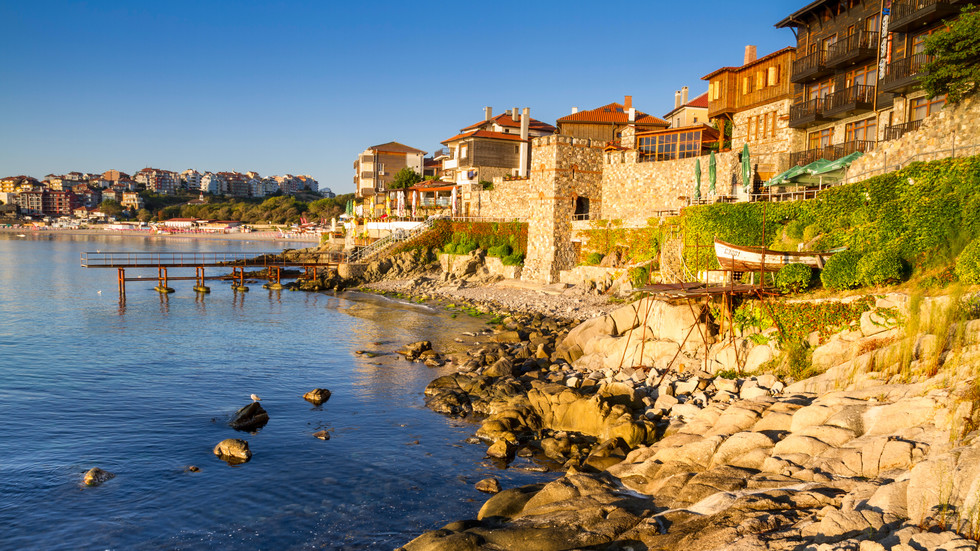 Seaside destinations in Bulgaria
