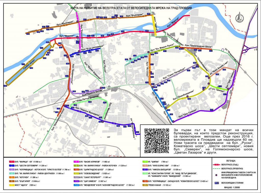 Alternative ways to travel around the city of Plovdiv.
